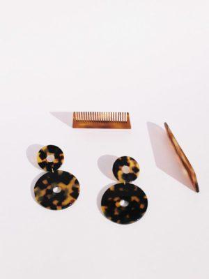 Scabiosa earrings