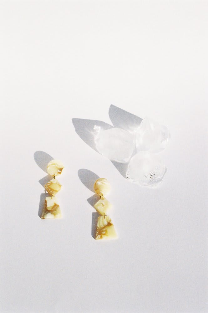 Lupinus earrings