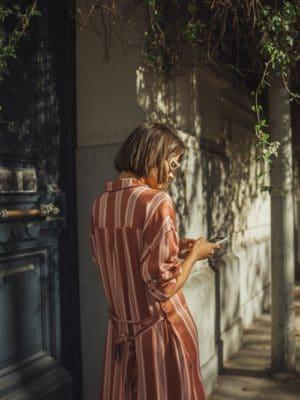 Natalia shirt dress