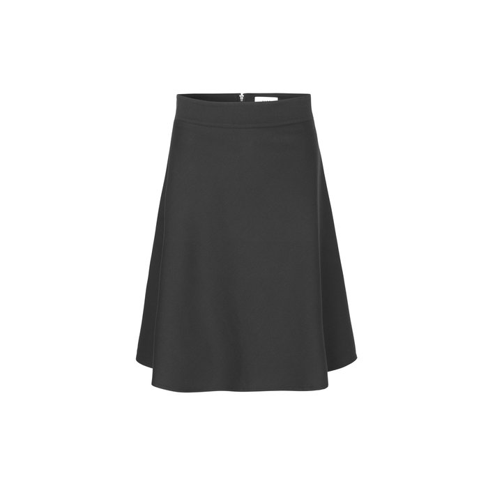 Stelly wool skirt Zwart