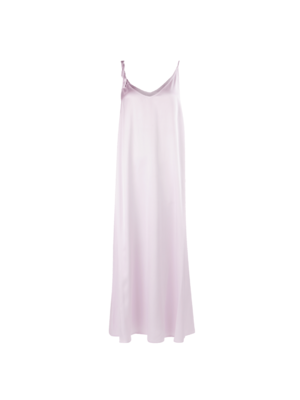 Sabadell satin dress Lila