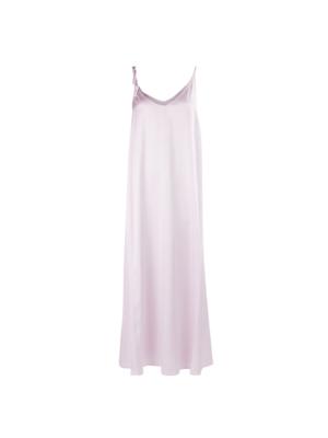Sabadell satin dress Lila
