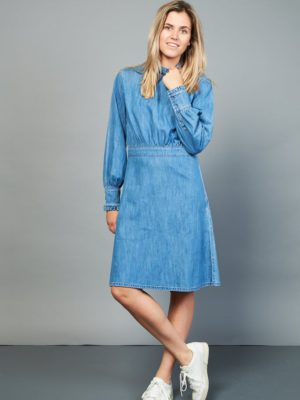 Rocket denim dress