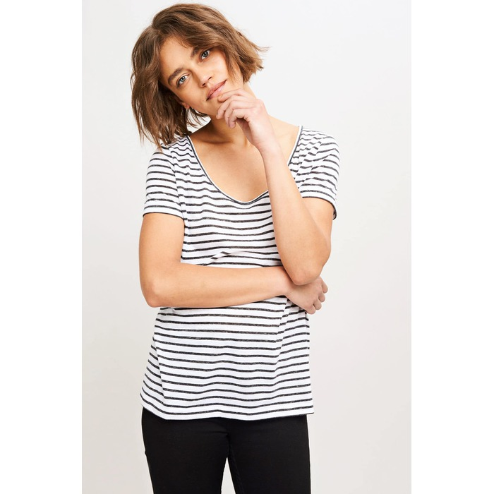 Nobel tee stripe