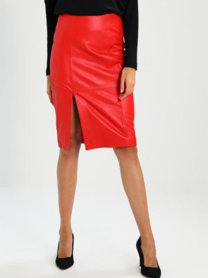 Beate leather skirt