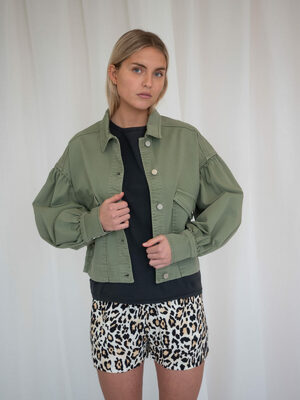 Mombasa cropped jacket