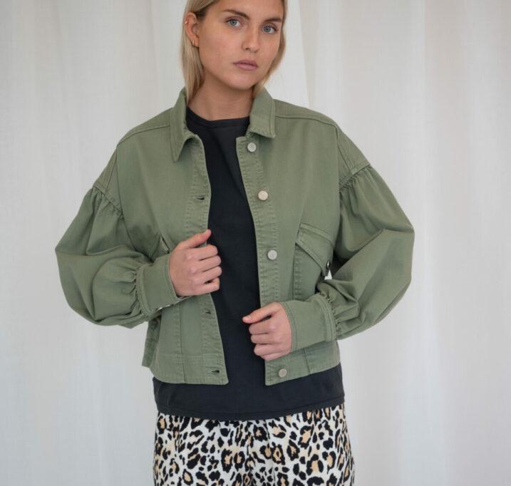 Mombasa cropped jacket