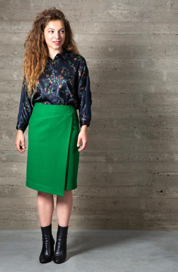 Tanja Wool skirt