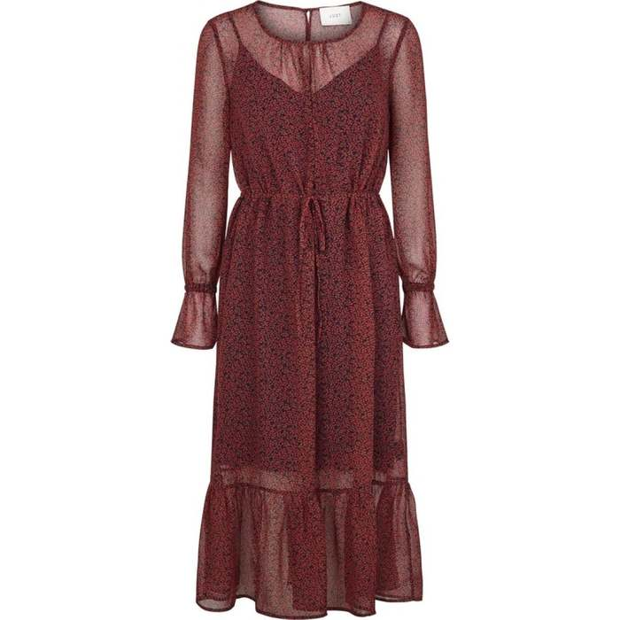 Cherry maxi dress