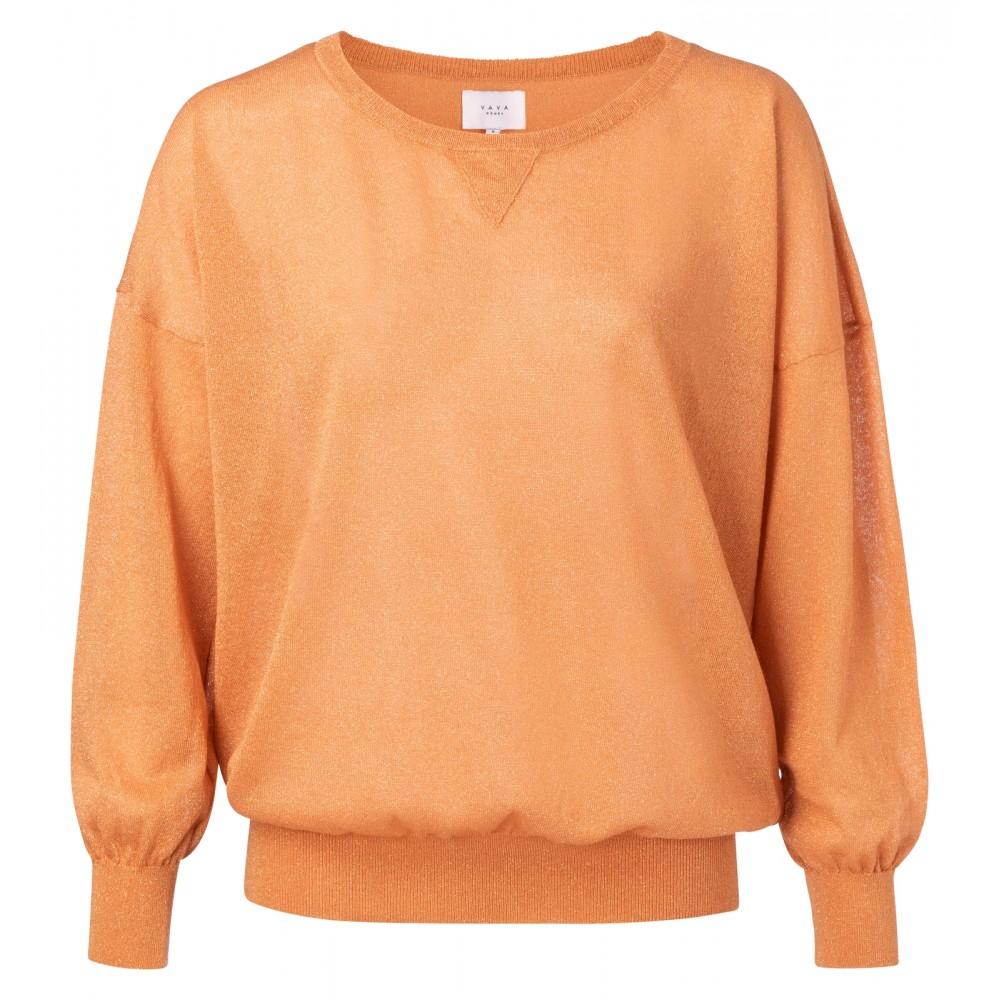 Papaya knit