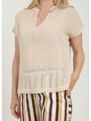 Linen Mao shirt