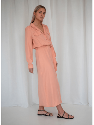 Tangier belted dress