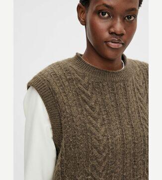 Naya knit waistcoat