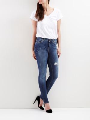 Skinny Sally blue jeans