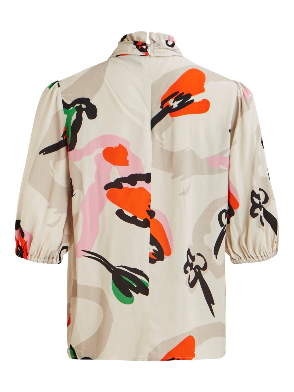 Zendaya multicolor top