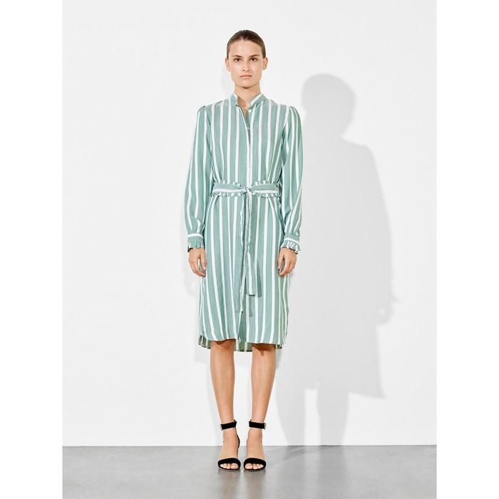 Palm shirt-dress