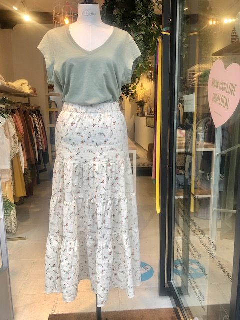 Breeze long skirt
