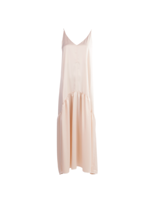Rouen satin dress