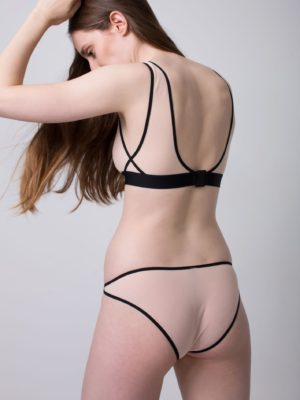 Come Out briefs (Black | Nude)
