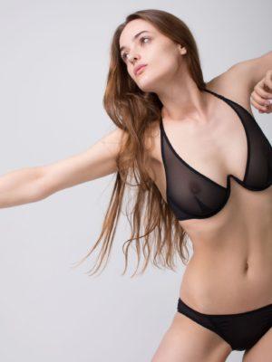 Fast Girls bra (Black | Nude)