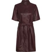 Junior leather dress