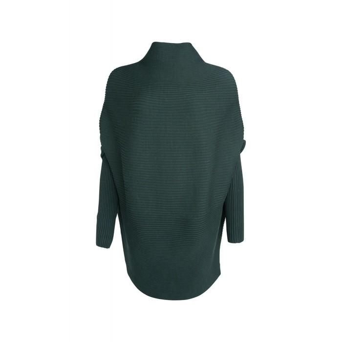 Ribly Drape sweater (Groen | Grijs)