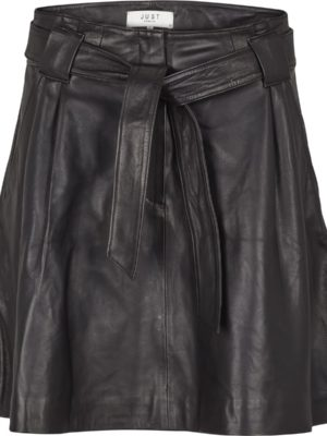 Sago leather skirt