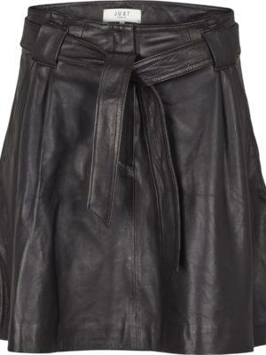 Sago leather skirt