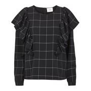 Shari ruffle blouse