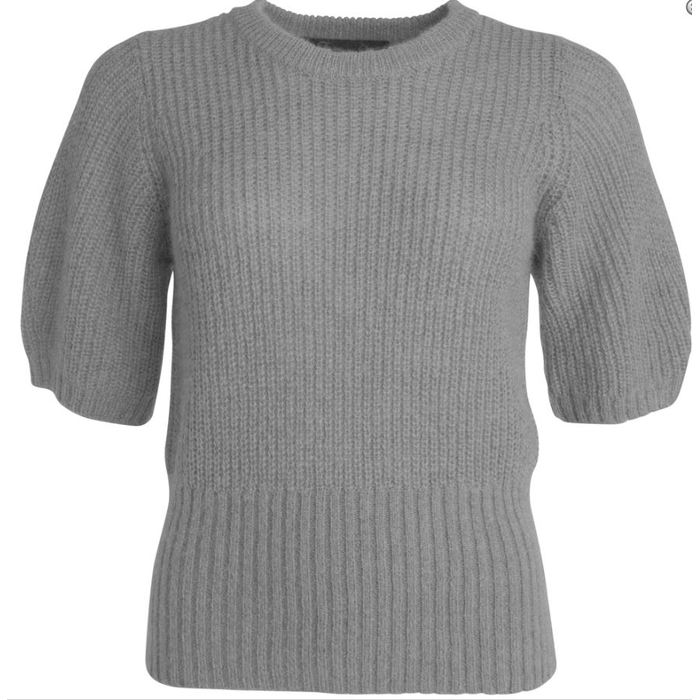 Vicki knitwear (Yellow   Grey)