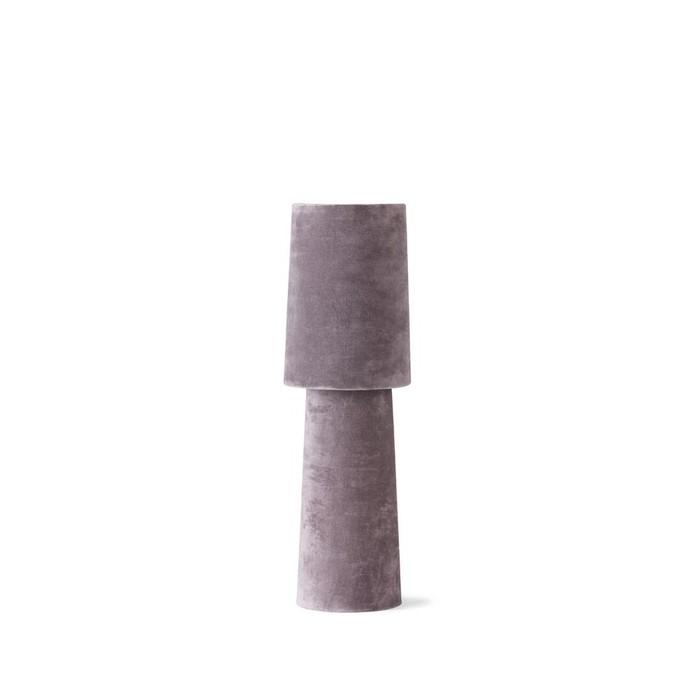 Velvet table lamp small