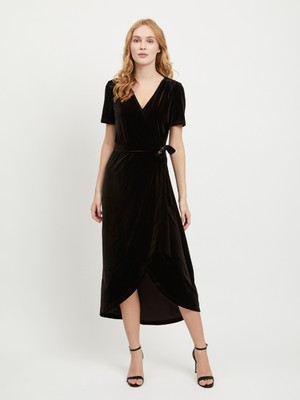 Noreena wrap dress