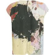 Cupro_top_w._slit_at_front-Top_-_Short_sleeve-201-1167-Flamingo_flower_-_697-1_700x