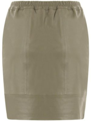 Coster leather skirt