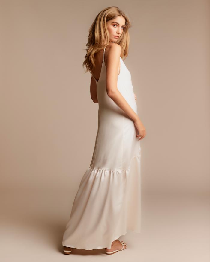 Rouen dress satin