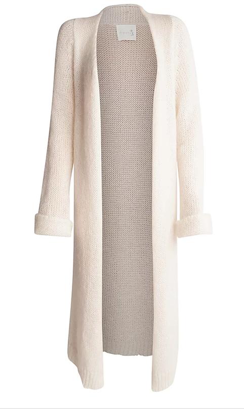 Bordeaux maxi knit