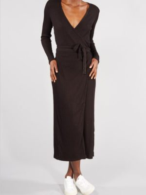 Edda wrap dress