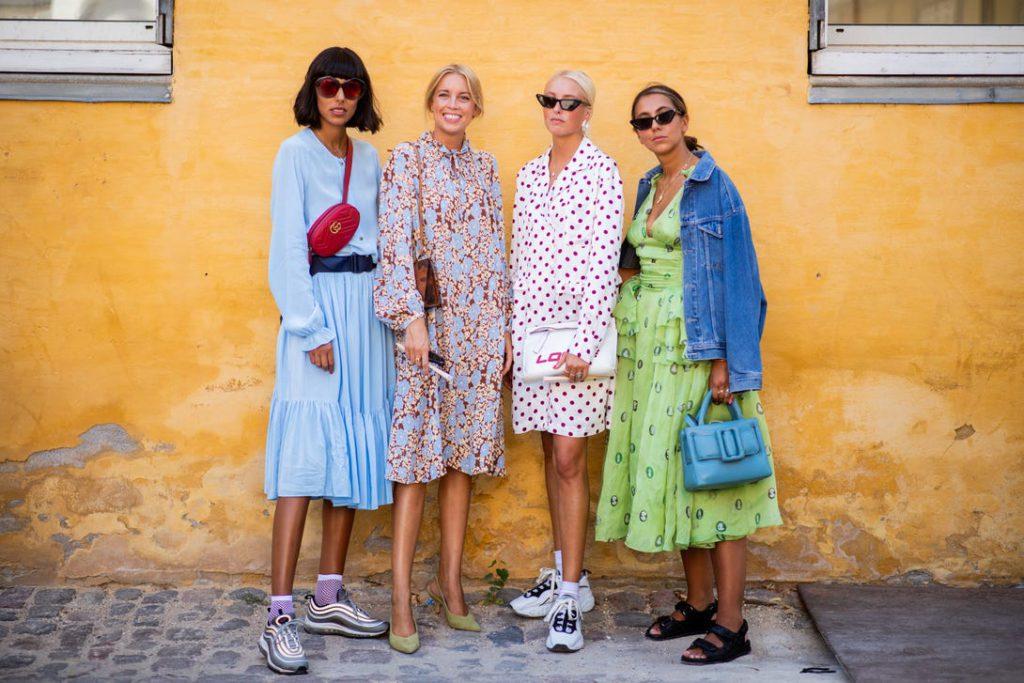 Influencers at Copenhagen Fashion Week