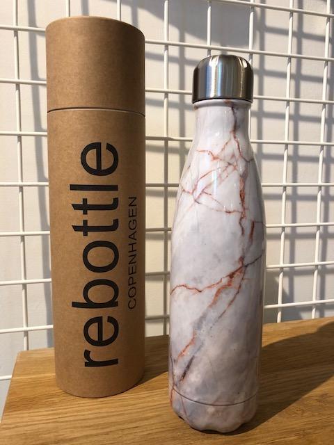 Beige Marble bottle 500ml