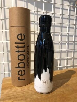 Black & White paint bottle 500ml