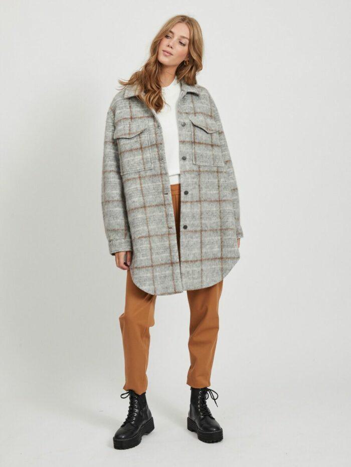 Sola shirt coat