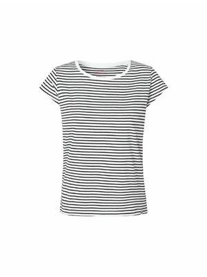 Teasy stripe tee Zwart/wit | Roze | Geel | Grijs