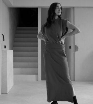 Anna maxi skirt