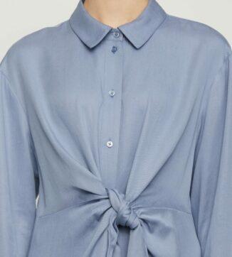 Obi shirt dress