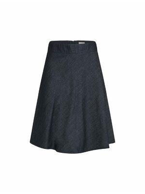 Stelly fall indigo skirt